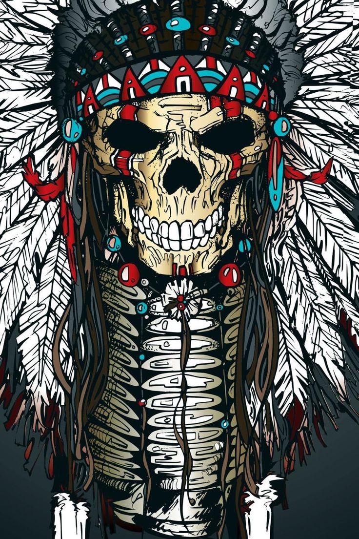 картинки на телефон черепа индейцев нами легко купить
