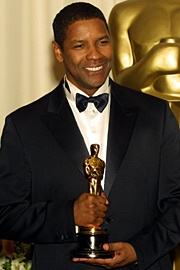 Denzel Washington: Best Supporting Actor in 1989 for Glory and Best Actor Oscar in 2001 for Training Day.