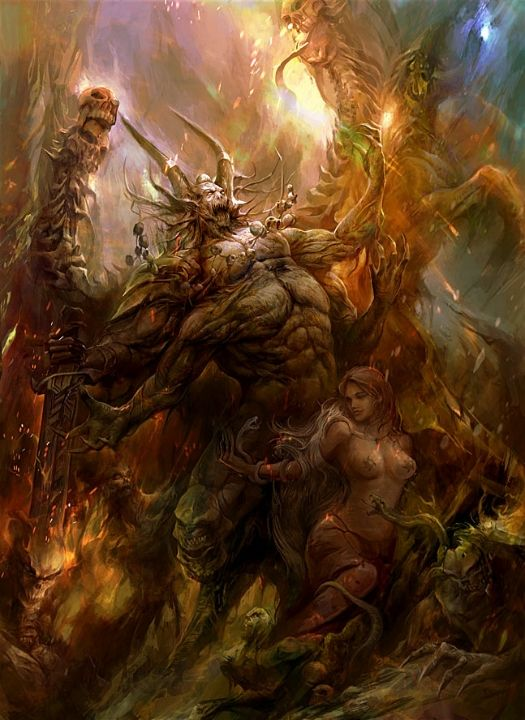 Esplendidas imágenes de demonios