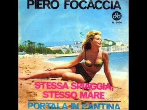Piero Focaccia - Stessa spiaggia, stesso mare (1963)
