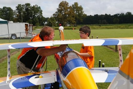 Ground-based pilots show skills at annual fly-in