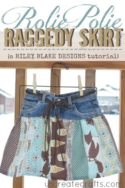 Rolie Polie Raggedy Skirt Tutorial
