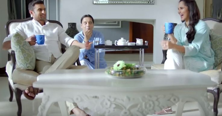 A new Nestle ad starring star Indian tennis player Sania Mirza and her husband Pakistani cricketer Shoaib Malik is the perfect preview to the India-Pakistan match on Mar. 19.