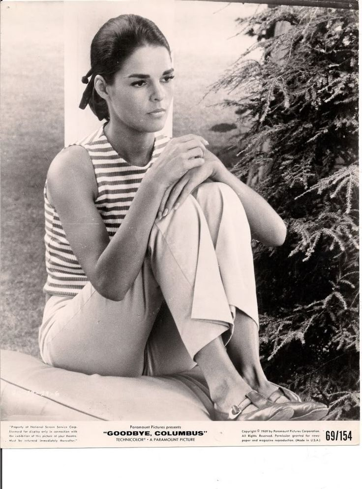 #AliMacGraw in Goodbye Columbus directed by Larry #Peerce, 1969