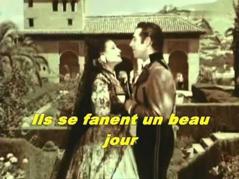 Luis Mariano - L'amour est un bouquet de violettes (Violetas Imperiales) - YouTube