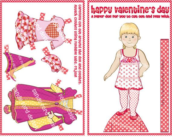 712 best images about Paper Doll: Holiday and Card on ...