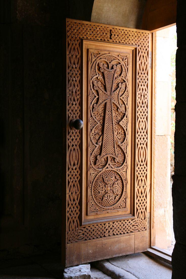 Armenia. Nora Vank Monastery Door.  http://www.weird-wood.blogspot.co.uk/