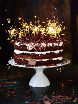 Chocolate Celebration Cake | Comfort Food | Jamie Oliver#MHJ4K6aKgimcXU4l.97