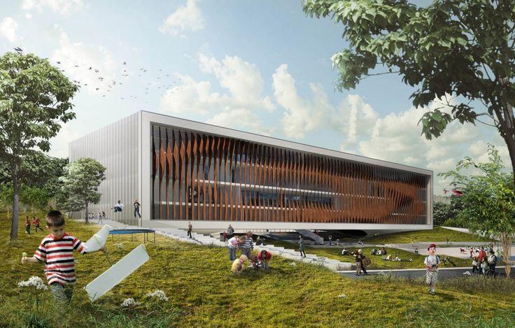 Crete Bioclimatic School Competition Entry / Kamvari Architects