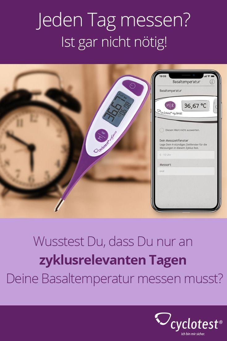 Das Wolltest Du Schon Immer Uber Deinen Zyklus Wissen Cyclotest Basaltemperatur Hormonfreie Verhutung Verhutung