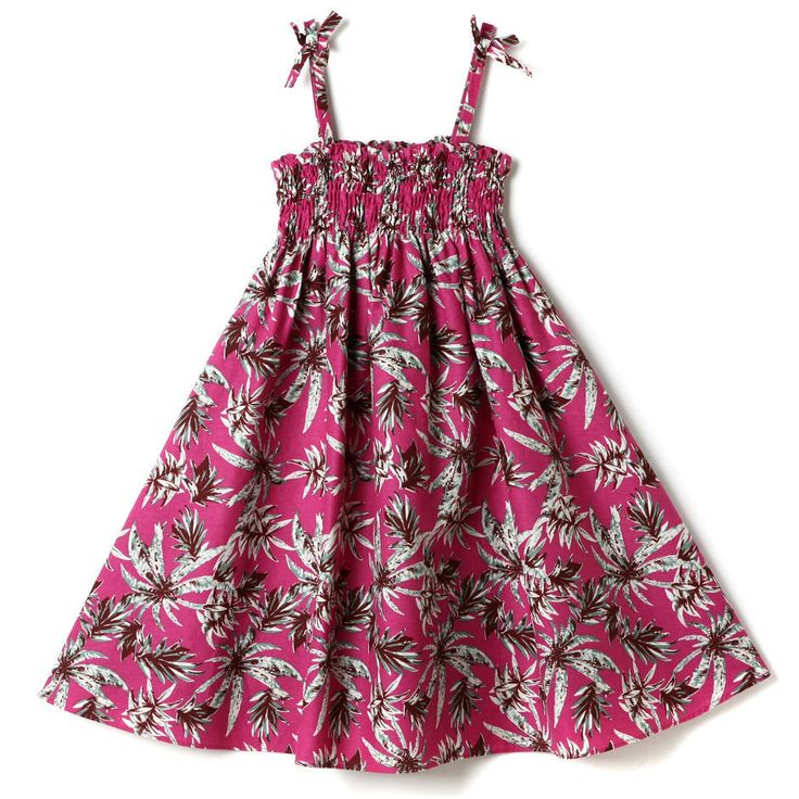 Topten10 KIDS GIRL Smoking Hawaiian Pattern Dress_5 options #Topten10 #Everyday