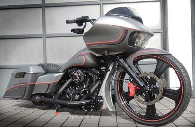 First 2015 Harley Road Glide 26 Inch Conversion