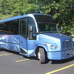 29 PASSENGER DELUXE MID-SIZE BUS #GroundTravelSpecialist #BrownstownCharterTwp #MI #Bus