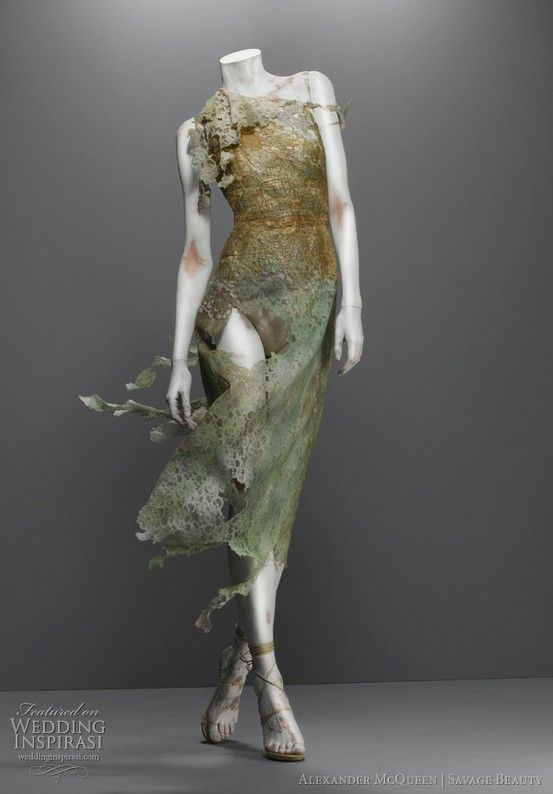 Nymph Dress by Alexander McQueen