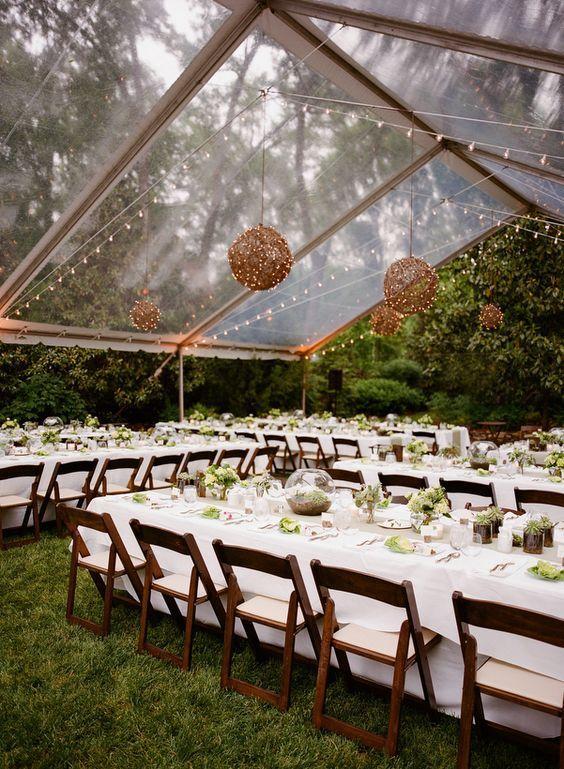 222 best Garden Weddings images on Pinterest | Back garden weddings ...