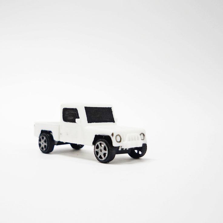 [Toy Car] 3D printing model by Brian P (batch 2012, UPH Product Design)