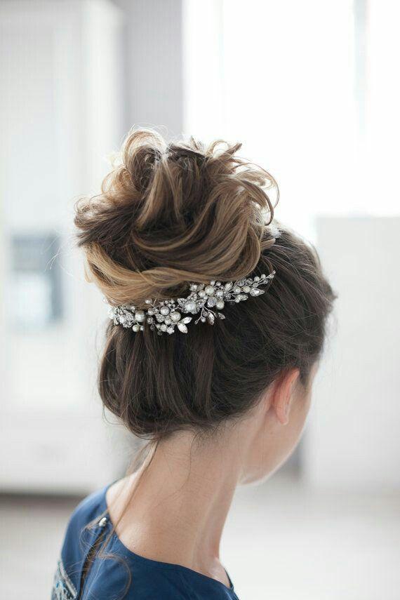 Best Accessoires Cheveux Coiffure Mariage Chignon Mariée - Diy chignon boheme