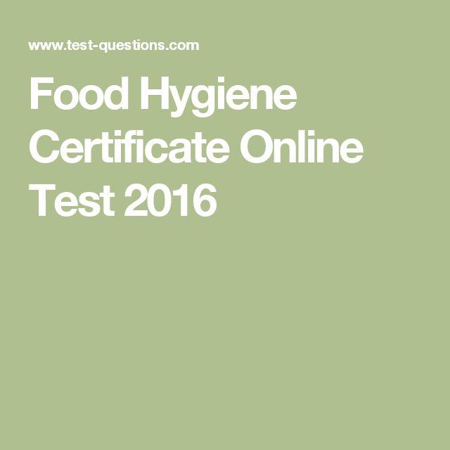 ce458f7d01360ed9d76939a6ad6e017e  hygiene certificates online