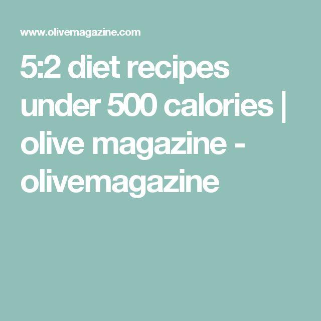 5:2 diet recipes under 500 calories | olive magazine - olivemagazine