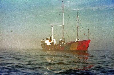 Radio Noordzee International (RNI) ship Mebo II