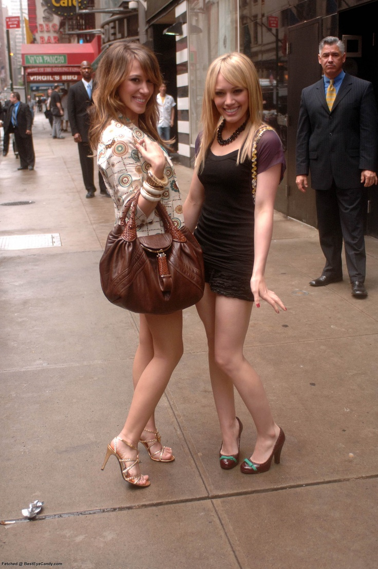 Hilary & Haylie Duff | ♥ Hilary Duff ♥ | Pinterest ...