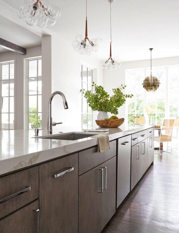 Cabinet pulls and just love it - Southwestern - Tatum Brown Custom Homes (Dallas, Texas)