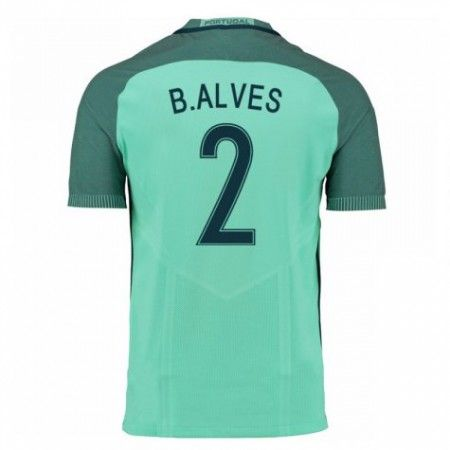 Portugal 2016 B.Alves 2 Borte Drakt Kortermet.  http://www.fotballpanett.com/portugal-2016-b.alves-2-borte-drakt-kortermet.  #fotballdrakter