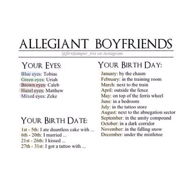 I married Zeke in the training room. Not the best location but I'm ok with that ~Divergent~ ~Insurgent~ ~Allegiant~