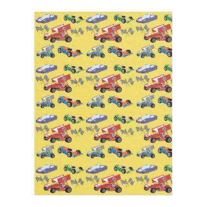Children's Race Car Blanket - individual customized unique ideas designs custom gift ideas