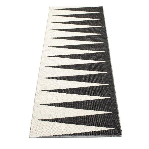 Pappelina løber - Vivi - black/white, 70x150cm, 850kr