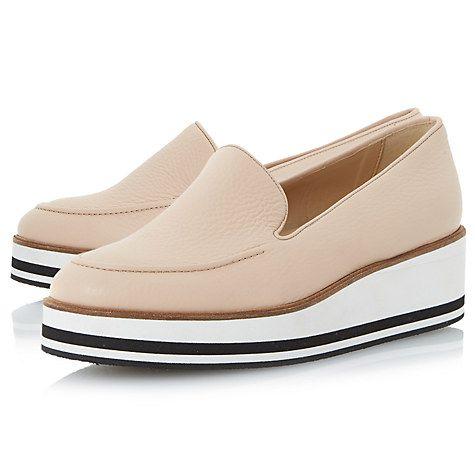 Buy Dune Genesis Flatform Loafers Online at johnlewis.com
