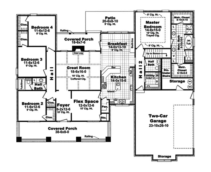 Best Floor Plans Images On Pinterest House Floor Plans