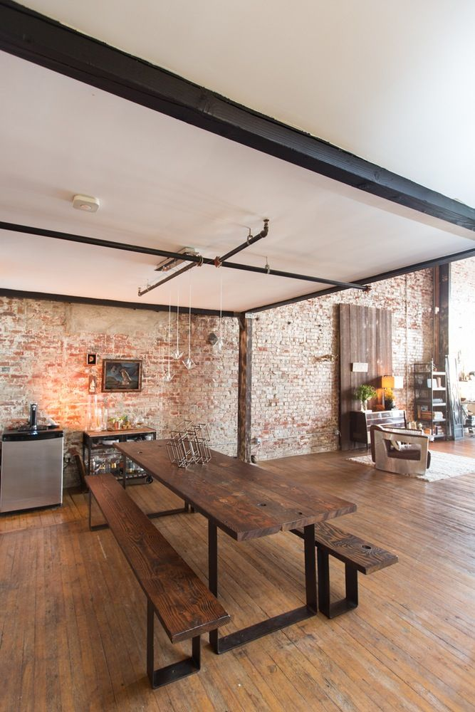 House Tour: A Bold, Brick Loft in Downtown LA   Apartment Therapy