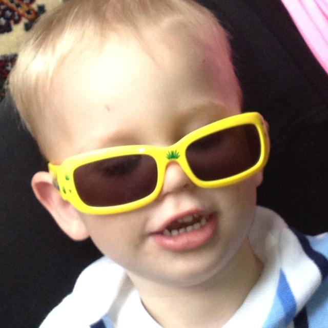 My silly grandson