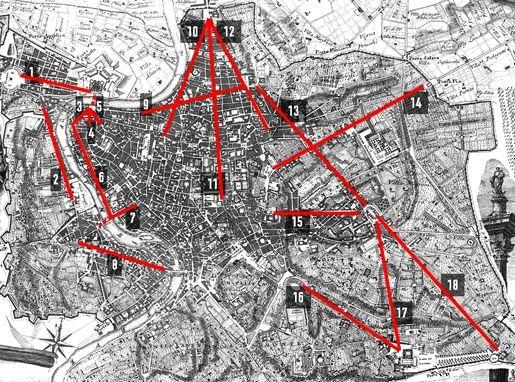 Urban Networks: Enderezar lo torcido: El City Marketing de los Papas en la Roma del Renacimiento.