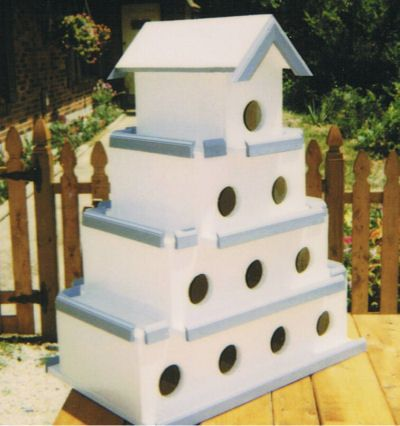 Purple martin bird houses plans woodworking projects plans for Martin house designs