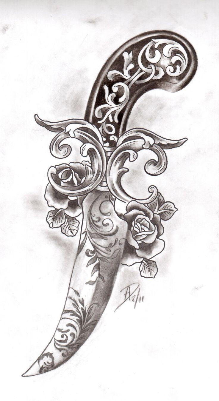 Dagger tattoo meanings itattoodesigns - Victorian Dagger By Ladygreytattoo On Deviantart