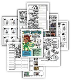 "Complete this eleven-page comic download and Juniors have earned their ""Savvy shopper"" badge. Exclusively available at MakingFriends.com"