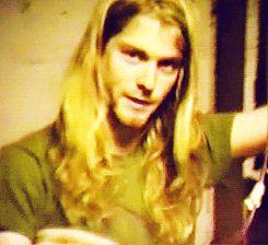 Long and Blond. Kurt. Wat R U Doing?