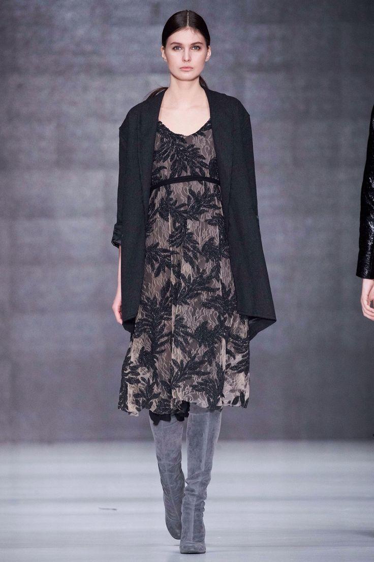 Sartorial Elegance — Tako Mekvabidze - Russia Fall 2017