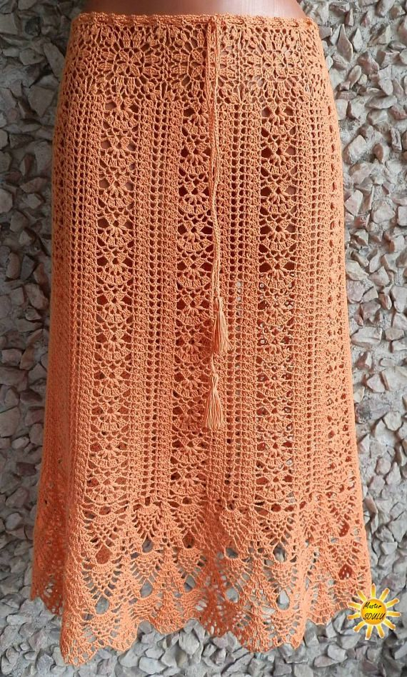 Handmade skirt Redhead