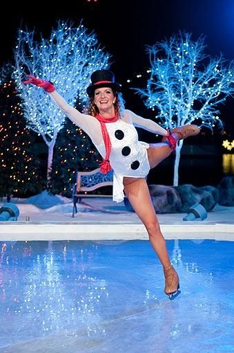 ( SEAWORLD ORLANDO  / October 15, 2013 )   The Winter Wonderland on Ice is a spectacular show where Christmas comes to life with towering water fountains, magnificent fireworks and some of the most talented ice skaters in the world. Select dates Nov. 23-Dec. 31, 2013.