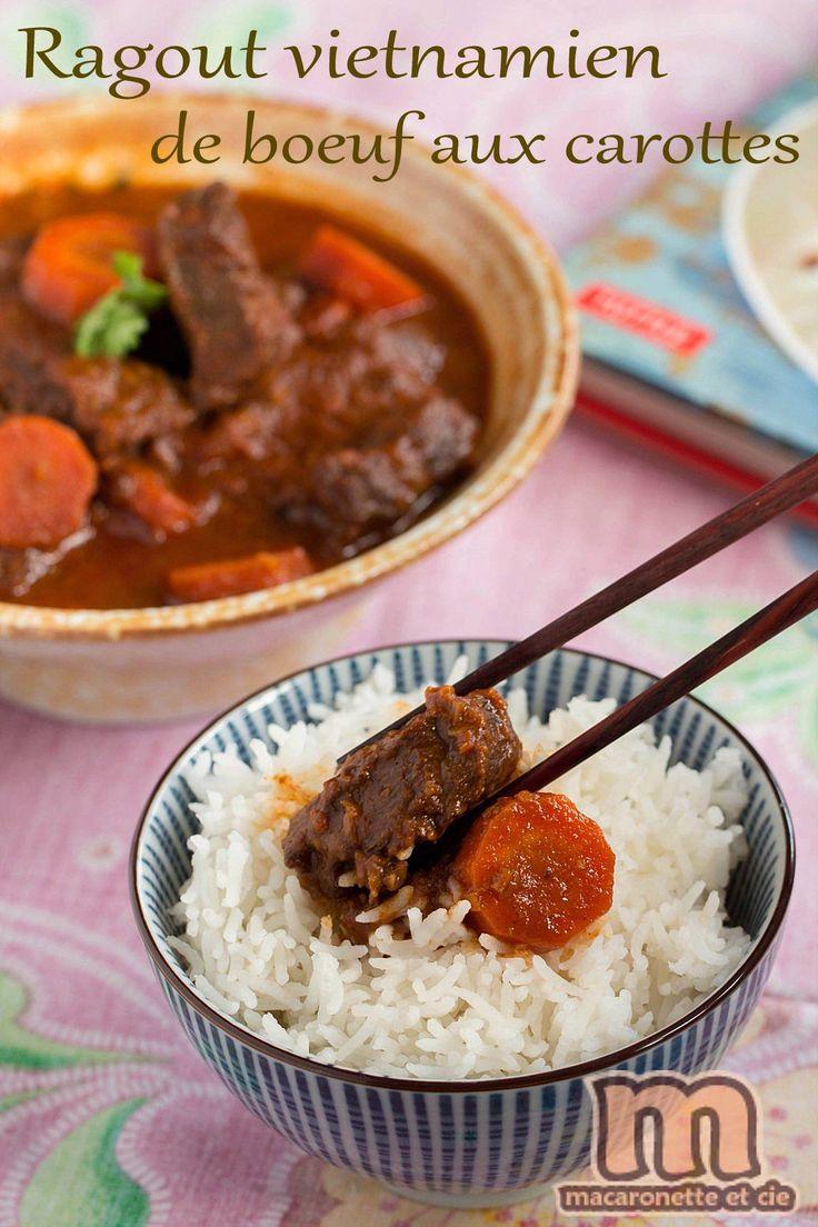 Ragout de boeuf vietnamien (French recipe for Vietnamese beef stew)