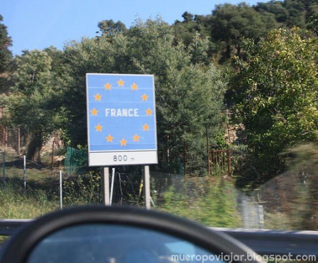 Entrada a Francia en coche