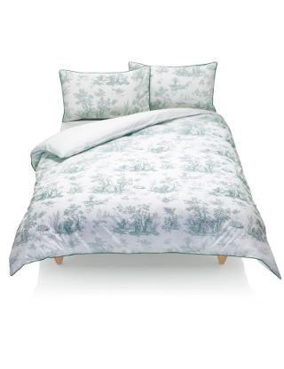 Toile Cotton Rich Bedset | M&S