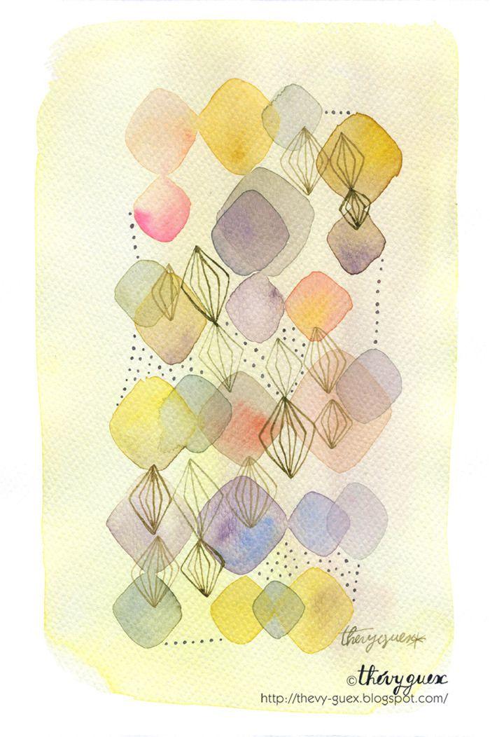 17 best images about art on pinterest pastel originals - Peinture jaune pale ...