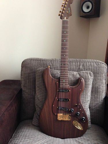 Fender Rosewood Shishkov MB - Friday Strat #290 ~ Strat-O-Blogster Guitar Blog