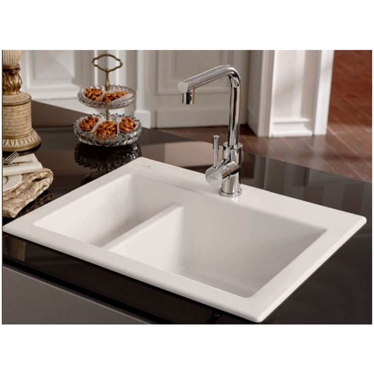 31 best kitchen sinks images on pinterest stainless steel sinks villeroy boch subway xm 15 bowl espresso ceramic kitchen sink workwithnaturefo