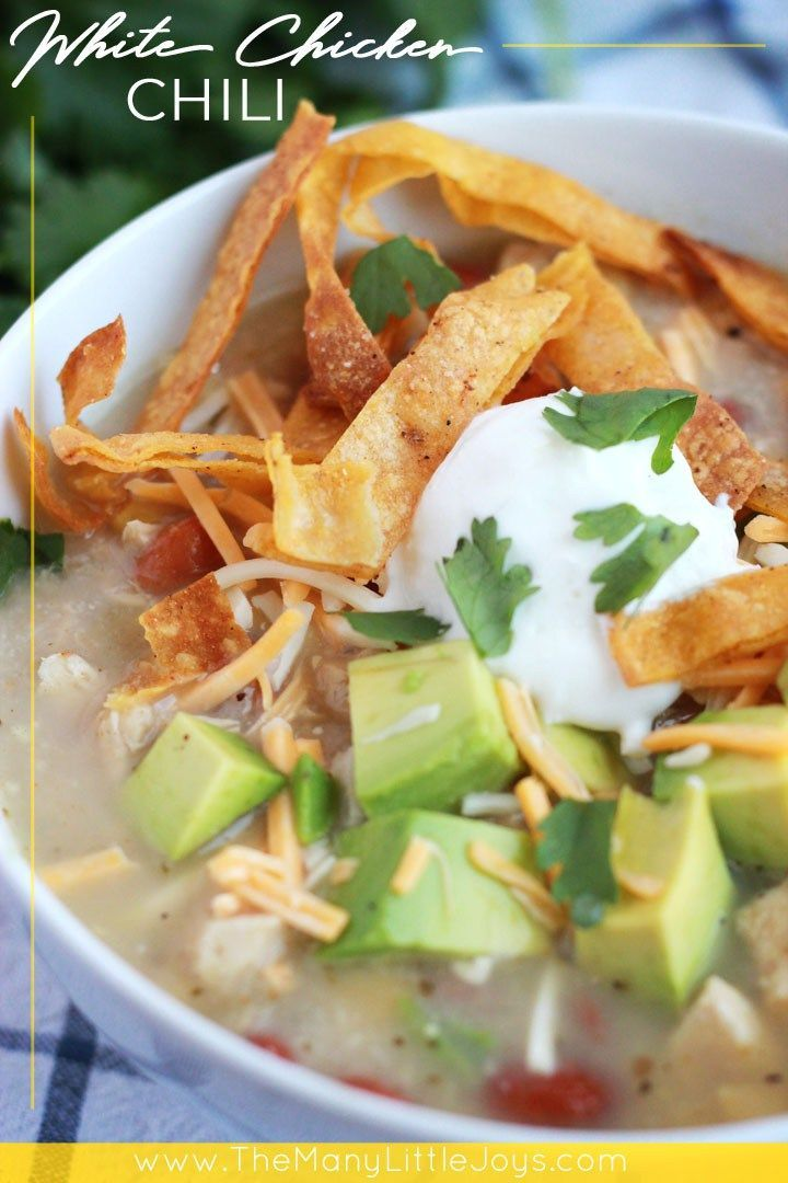 White Chicken Chili Instant Pot Or Stove Top Delicious Food