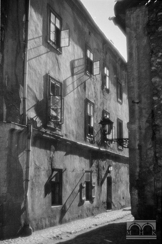 ul. Ciemna, Kraków, lata 50-siate - Hermanowicz